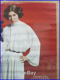 Star Wars Princes leia 1977 Vintage Poster movie Inv#G4510