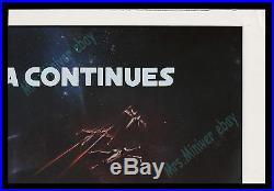 Star Wars THE EMPIRE STRIKES BACK 40x60 Movie Poster! RARE RECALLED ROLLED