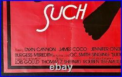 Such Good Friends Original Quad Movie Cinema Poster Saul Bass Artwork Vintage