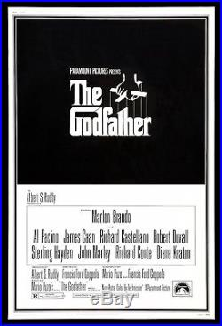 THE GODFATHER CineMasterpieces HUGE 40x60 VINTAGE ORIGINAL MOVIE POSTER 1972