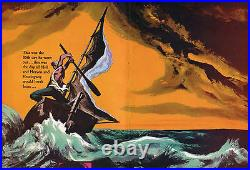 THE OLD MAN AND THE SEA orig 1958 movie poster ERNEST HEMINGWAY/SPENCER TRACY