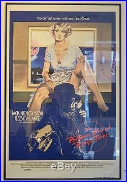 The Postman Always Rings Twice Original Vintage Movie Poster 1946