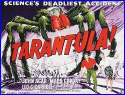 Tarantula Half-Sheet Vintage Movie Poster Lithograph Hand Pulled S2 Art Ltd Ed