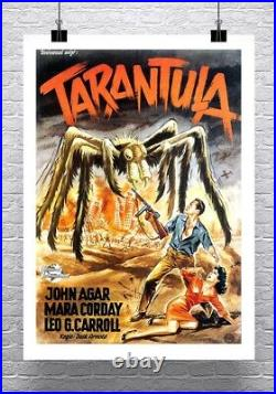 Tarantula Vintage Sci-Fi Spider Movie Poster Rolled Canvas Giclee 24x32 in