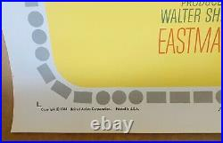 The Beatles HELP! Original 1965 Vintage One-Sheet Movie Poster