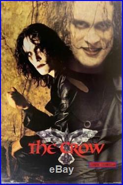 The Crow Brandon Lee Vintage 1996 Movie Poster 23 x 35