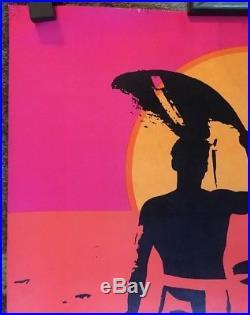 c3d5a6549ce The Endless Summer Original Vintage Poster Blacklight Movie Surf 60s Bruce  Brown