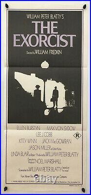 The Exorcist Original Vintage Movie Poster 1974