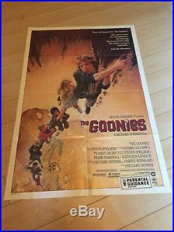 The Goonies Vintage poster 1985