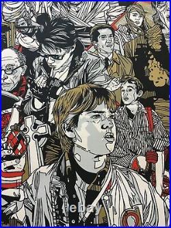 The Monster Squad Movie Poster 76/450 Halloween Art Tyler Stout Mondo SDCC vtg