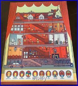 The Royal Tenenbaums Movie Poster Art Print PP 15/15 Wes Anderson sdcc mondo vtg