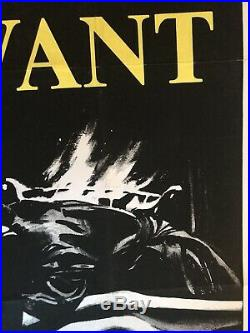 The Servant Original Vintage Cinema One Sheet Poster Dirk Bogarde 1963
