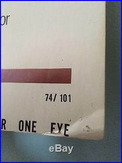 They Call Her One Eye Vintage 1974 Movie Poster Christina Lindberg