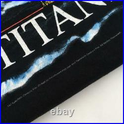 Titanic Movie Poster Shirt Large Leonardo DiCaprio Kate Winslet VTG 1998