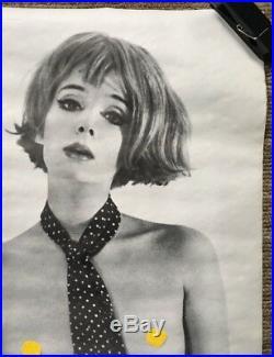 Top Banana Joanna Original Vintage Poster Movie Pin-up Personality Posters 1960s