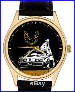 Trans Am Pontiac Smokey & The Bandit Vintage Hollywood Art Collector Wrist Watch
