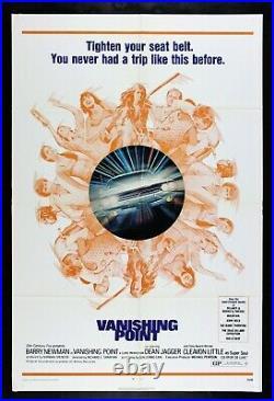 VANISHING POINT CineMasterpieces ORIGINAL CAR AUTO VINTAGE MOVIE POSTER 1971