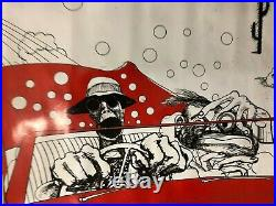 VINTAGE MOVIE POSTER Ralph Steadman Fear And Loathing The Savage Journey
