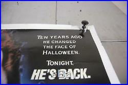 VTG Halloween 4 Return of Michael Myers Movie Poster 1988 27 x 41 Horror