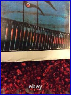 VTG Orig. Pink Floyd The Wall Movie Promo Subway Poster 38x54 Marching Hammers