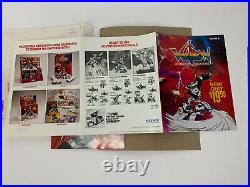 VTG Original 1986 Voltron Video Store Promo Packet - Movie Poster & Standee