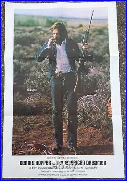 Very Rare 1971 Dennis Hopper The American Dreamer Movie Poster