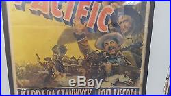 Vintage 1939 Paramount Pictures Union Pacific Original Poster in a Frame 41X26