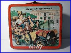 Vintage 1960's The Beverly Hillbillies Metal Lunch Box By Aladdin