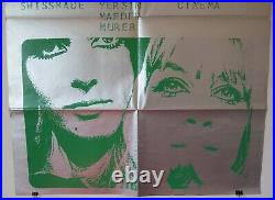 Vintage 1968 Original SWISSMADE 35x50 Poster H. R. GIGER Avant-Garde Sci-FI