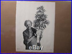 Vintage 1971 First Prize original marijuana poster 6310