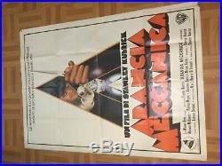 Vintage 1971 French A Clockwork Orange Movie Poster Large