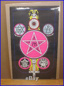 Vintage 1972 Season of the Witch original occult poster 8099