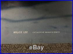 Vintage 1975 Bruce Lee Enter The Dragon Nunchuks Poster 37 x 24.5 Kung Fu