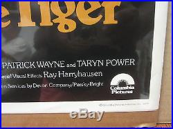 Vintage 1977 Sinbad and the Eye of the Tiger movie poster 4259