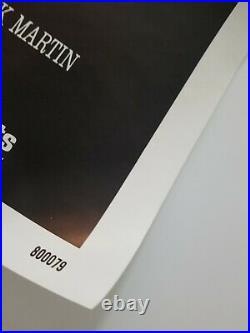 Vintage 1980 RAGING BULL Original One Sheet Poster DENIRO SCORSESE JAKE LAMOTTA