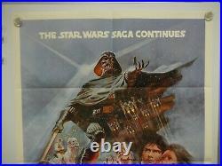 Vintage 1980 The Empire Strikes Back Original AUTHENTIC MOVIE POSTER NM