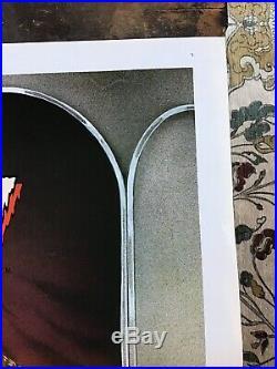 Vintage 1982 CREEPSHOW Original Movie Poster / Full Sheet 41x27 / Stephen King