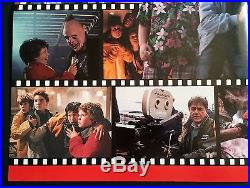 Vintage 1985 Poster Making of Goonies Chunk Josh Brolin Corey Feldman Sean Astin