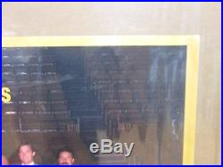 Vintage 1986-87 LA Lakers team photo basketball 11426