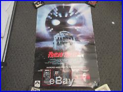 Vintage 1987 Friday The 13th VI Jason Lives Vhs Promo Poster