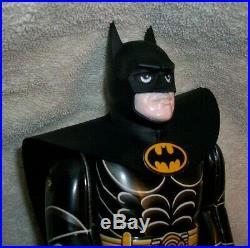 Vintage 1989 Billiken (Michael Keaton)Batman Wind Up Tin Toy Dc Inc Missing Key