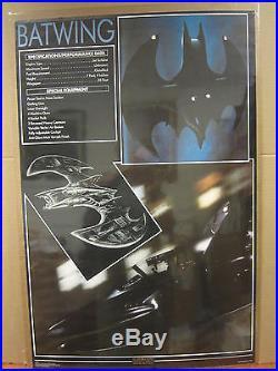 Vintage 1989 DC Comics Batman The batwing poster 4681