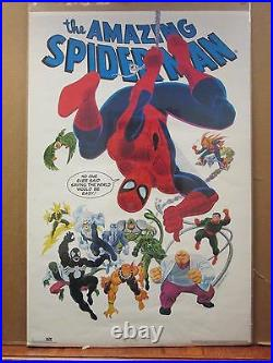 Vintage 1990 The Amazing Spider-man original Marvel comics poster 12215