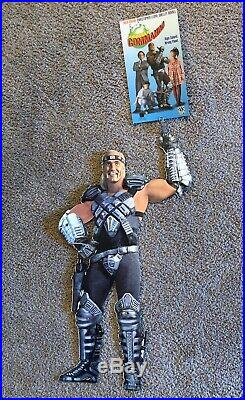 Vintage 1991 Suburban Commando Movie Hulk Hogan Window Display WWF WCW Wrestling