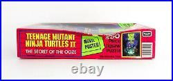 Vintage 1991 Teenage Mutant Ninja Turtles II 300 Pc Puzzle Movie Poster Rare Nos