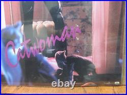 Vintage 1992 original movie DC Comics poster Cat woman 12158