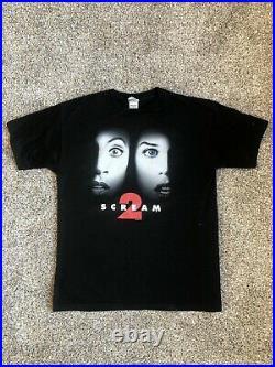 Vintage 1997 Scream 2 Movie Poster T-Shirt XL DESANTIS TAG VERY RARE