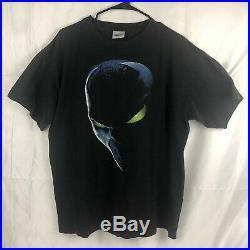 Vintage 1997 Spawn Movie Poster Face Promo T-Shirt Black XL- Todd McFarlane
