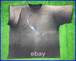 Vintage 1997 Spawn Shirt Movie Poster Face Promo Sz XL VTG