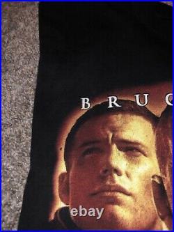 Vintage 1998 Armageddon Bootleg Poster T-Shirt XL X-Large Movie Tee